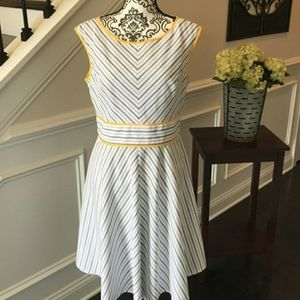 London Style Fit & Flare Dress